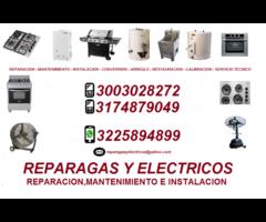 ESTUFAS - HORNOS - CALENTADORES - CEL.3003028272 CALI